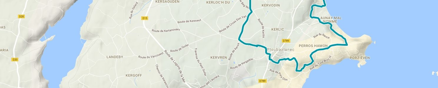 Trail court (12 km)